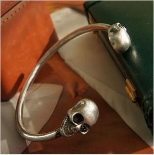 Min. order $9 (mix order) Модный skull cuff bracelet for SL019
