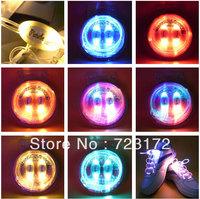 40pcs/lot(20 pairs)  LED Fiber Optic Flashing shoe lace Light up Flash shoelace shoe laces OPP bag packing - 4TH Gen.