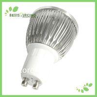 LED Wholesalers Gu10 8w LED Spot Light Bulb , Warm White cold white, 110-240v  2 pcs/lot