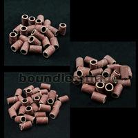 """300pcs 80"""" 120"""" 180"""" Nail Drill Sanding Band Medium Coarse_KD165-167"""