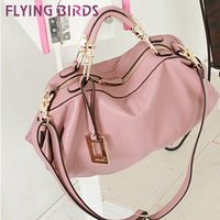 FLYING BIRDS Guaranteed 100% Genuine Leather messenger bags Leather Women Handbags Ladies Tote Bag  HQ50915-2