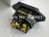 Hi End Audio High Performance Rhodium Plated Non Solder Hi End IEC Inlet