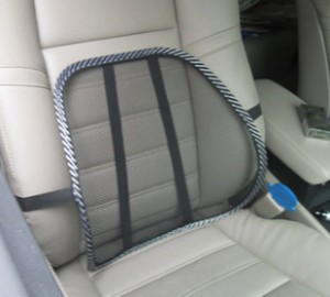 Hot Sale Office Chair & Car Seat Back Lumbar Support Mesh Ventilation Cushion Pad Free Shipping