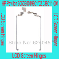 free shipping. New LCD screen hinges for HP Pavilion 6055B0019901  6055B0019902, Left and right per pair