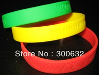factory directly wholesale cheap Party Favors Silicone Band with customized debossed logo