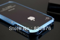 Good Quality Deff DRACO CLEAVE Aluminum Bumper Case for Iphone 4 4S with Retail Box + Free Shipping