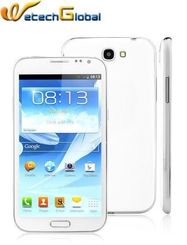 "Bluebo N7105 Mtk6589 quad core real 5.3"" 960*540 screen Galaxy Note 2 Note2 android mobile phones dual sim"