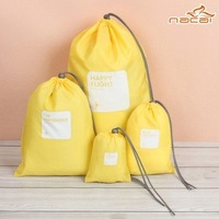 2013 New printing waterproof lucky travel bag sports bag free shipping(4 pieces/set)