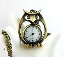 popular owl pocket watch