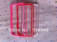 High Quality Bumper Case Skin Cover Frame TPU For LG Nexus 4 E960 Free shipping DHL UPS HKPAM