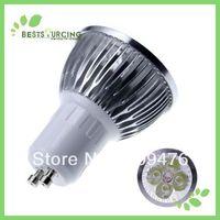 4 pcs/lot  sale! free shipping high power GU10  day white /warm white led spotlight bulb lamp light 6W 110-240V