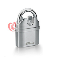 alarm lock for door and bicycle alarm padlock electroplate alarm lock Free shipping