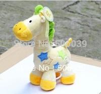 6pcs/ lot baby toy  Super soft giraffesbell Plush toys