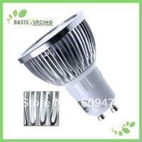 110V-240V 6W GU10 Day White /warm white Spot Light High-energy High-brightness save LED Bulbs/Lamps 2 pcs/lot