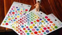 New 6 sheets/set rainbow colors Paper sticker / cute index label / Wholesale