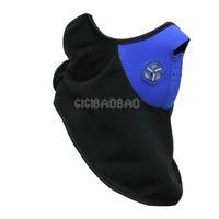 Blue Neoprene Neck Warm Face Mask Veil Sport Bike #gib