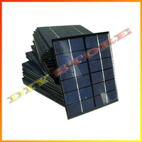20pcs/lot 6V 330mA 2W mini solar panels small solar power 3.6v battery charge solar led light solar cell drop shipping -10000594