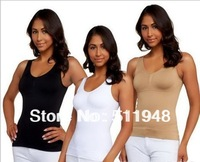 60 pcs/ lot Cami Body Shaper Genie Bra ShapeWear Tank Top Slimming Camisole Spanx Camishaper 3 Color