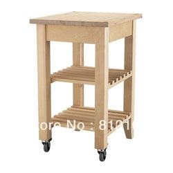 sell birch kitchen carts(China (Mainland))