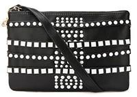 2013 Fashion TMC Women Punk Style Candy Color Clutch Elegant Shoulder Bags JY029
