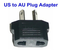 200Pcs/Lot Convert US Charger Plug to AU Plug Adapter Travel Universal Power Plug Adapter Free Shipping