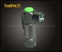 TrustFire Z1 Cree Q5 3-Mode 280-Lumen LED Flashlight By 1* 16340 Battery Aluminum Waterproof Mini Camping Hiking Torch