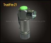 TrustFire Z1 Cree Q5 3-Mode 280-Lumen LED Flashlight By 1* 16340 Battery Aluminum Waterproof Mini Camping Hiking Torch