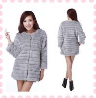 KC001 Autumn Winter VIVI Fashion Coat Faux Fur Rabbit Vest For Ladies' Coats/Women Outwear 2013 Free Shipping 5color To Choose