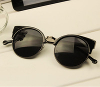 2013 NEW ARRIVAL! SUPER FASHION Metal Cat eye Sunglass, Special design JUST FOR YOU! PROMOTION