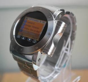 W980 full metal watch mobile phone beautiful watch mobile phone waterproof bluetooth webcam e-book reading(China (Mainland))
