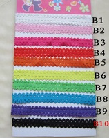 Girl's small Elastic headbands,baby stretchy laced head bands unisex Headwrap Children's hair adorn accessories hair wear 500pcs