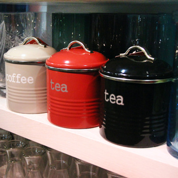 Free shipping wholesale Stainless steel sealed cans, milk cans ,coffee tea caddy storage tank