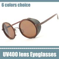 europe vintage glasses designer inspired round metal sunglasses classic round frame sunglasses retro super British stylish