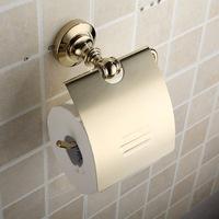 Copper metal towel rack toilet paper holder toilet paper holder paper holder toilet paper roll holder