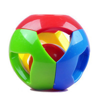 Ball baby toy multicolour buzz ball grasping the ball baby toy colorful puzzle c101