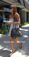 Hot LoVe Fashion Denim Neo Cabby MM M95351  Calfskin Leather Tote Bag high quality