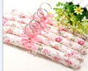 H&3 5pcs Clothes Hanger Flowers Blossom Sponge Padded Clothes Hanger