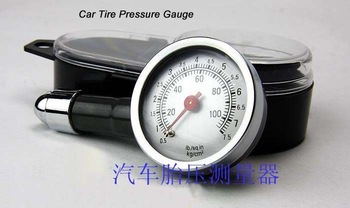 Car Tire Pressure Gauge Motorcycle Tire Precision Metal Pressure Measurement Instrument Dial Measure Monitor