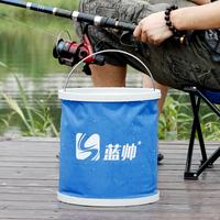 Multifunctional portable folding bucket car wash bucket car bucket outdoor bucket 11