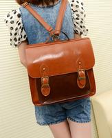 2013 women's handbag bag fashion preppy style vintage women's strap backpack four bag