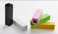 Cheap PURE ACRYL  perfume power bank 2600mAh  portable mini Moveable power bank + Micro USB Cable+ Retial box