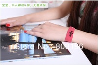 Hot Sale Mosquito Repellent Bracelets GREENLUCK Wristbands 50pcs/Lot  Free Shipping
