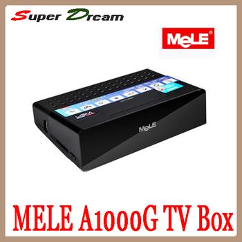 Mini PC! Mele A1000G Android 4.0 TV Box Allwinner ARM Cortex A8 1GB RAM 8GB ROM HDMI1.4 Full-HD 1080P 3D 100M LAN & WiFi TV box
