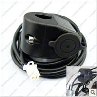 5pcs Free shipping 12V Car/Motorcycle Cigarette Lighter Socket, WATERPROOF motorcycle cigarette lighter seat,DIY
