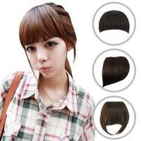 Wig fringe hair piece high temperature wire fake fringe bangs oblique bangs , belt