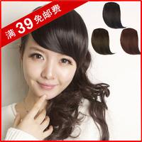 High temperature wire wig fashion oblique bangs , false fringe bevel fake fringe wig