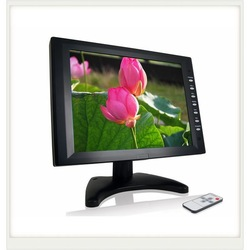 Free shipping !! 10 inch touch screen lcd monitor(China (Mainland))