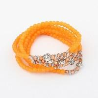 Min. order is$15(mix order)Factory price,Newest fashion Bracelet, retro all-match long multiple Bracelet
