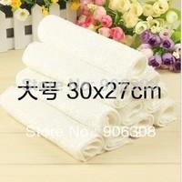 Wholesale 50pcs/lot high efficient ANTI-GREASY dish cloth,bamboo fiber washing cleaning magic multi-purpose wipes rag 27*30