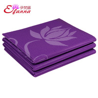 6mm lotus folding yoga pad handbag